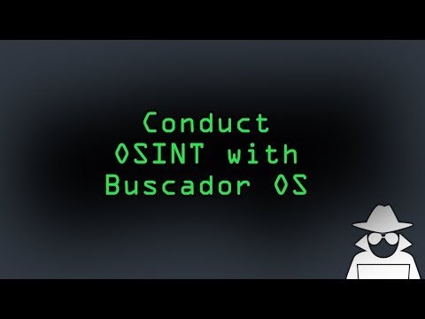 Conduct OSINT Investigations Online with Buscador OS [How-To]