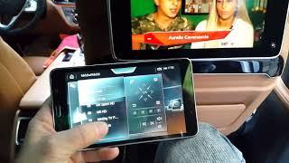 BMW G11 G12 G30  OEM RSE retrofit , TV ,  OEM Samsung rear system remote ,www.bmwtuning.hu