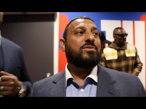 'FIGHT WILDER NEXT!' - PRINCE NASEEM HAMED REACTS TO ANTHONY JOSHUA BRUTAL KNOCKOUT OF POVETKIN