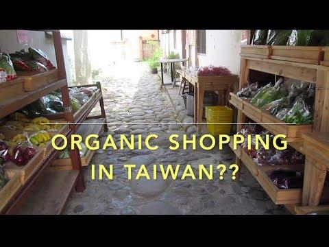 Organic Grocery Shopping in Taiwan // Farmer's Association