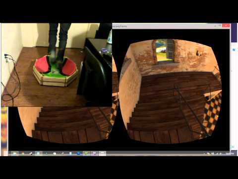 DIY Omnidirectional Treadmill Pre-Alpha Test 2