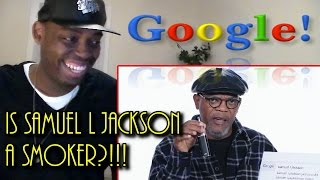 Samuel L. Jackson Answers the Web's Most Searched Questions | WIRED REACTION!!!