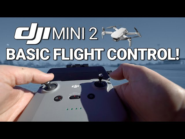 DJI Mini 2 / Basic Flight Control (Tutorial)