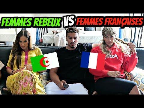 FEMMES REBEUX VS FEMMES FRANÇAISES