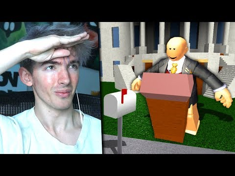 I became the PRESIDENT OF BLOXBURG