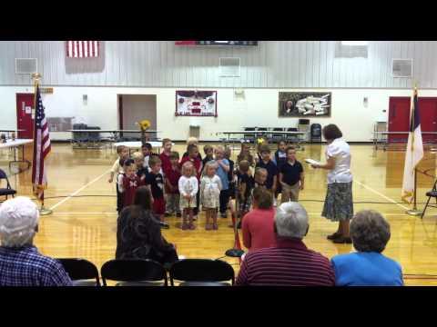 Anchored Christian School K3-K5 Grandparent's Day Presentation