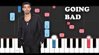 Meek Mill ft Drake - Going Bad (Piano Tutorial)