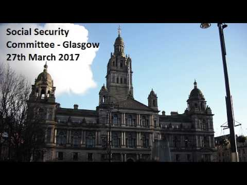 Social Security Committee [Audio Only] - Scottish Parliament: 27th March 2017