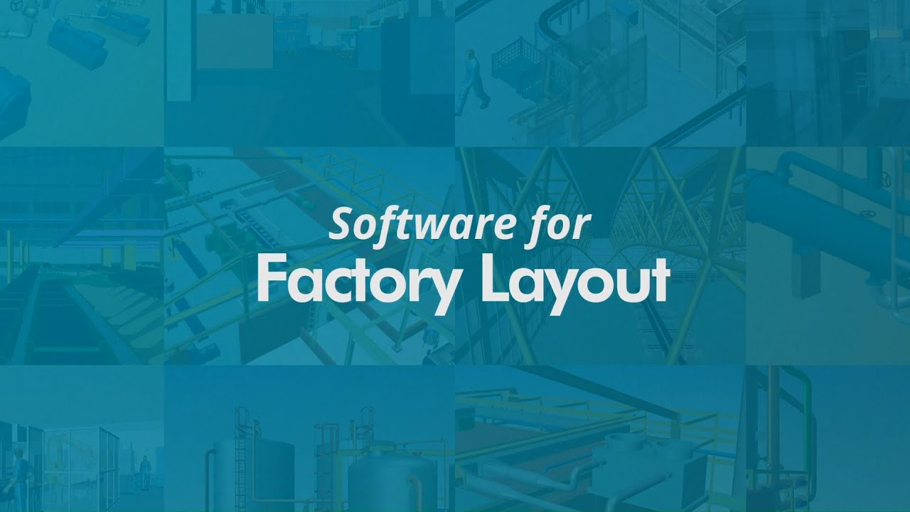 3D Factory Layout Software – MPDS4 - YouTube