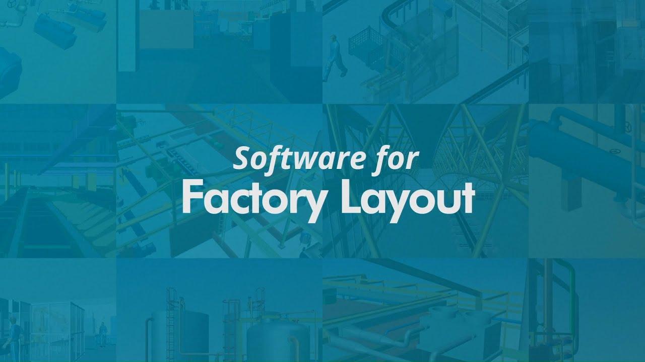 Factory Layout Plant Design 3d Software M4 Plant