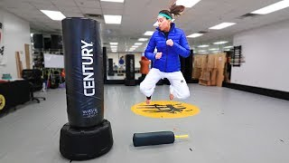 Taekwondo Footwork + Kick Training Drills