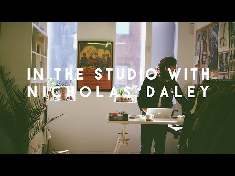 In the studio with Nicholas Daley