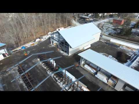 Ridgefield Supply 1-15-15 Construction Flyover