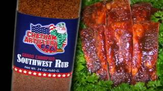 Cooking | Barbecue BBQ Grand Champion Southwest Rub from Bill Anderson Barbeque Rub National Championship