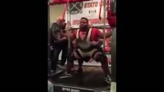 World Record Squat - 1270 lbs - David Hoff