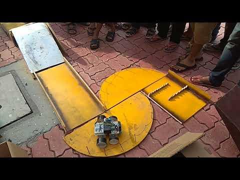 Robo Race Part 1 @ IIT Indore