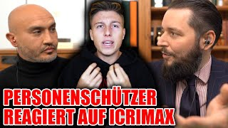 Bodyguard reacts to Icrimax robbery *English SUB*