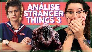REACT STRANGER THINGS 3! NOVO MONSTRO, NOVOS PERSONAGENS E MAIS! Analise do trailer Alice ...