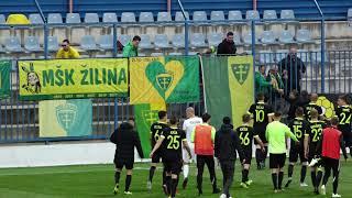 2a1455578 MFK Zemplín Michalovce - MŠK Žilina 0:2 (0:0) Slovnaft Cup