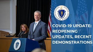 COVID-19 Update: Reopening Updates, Boston Demonstrations