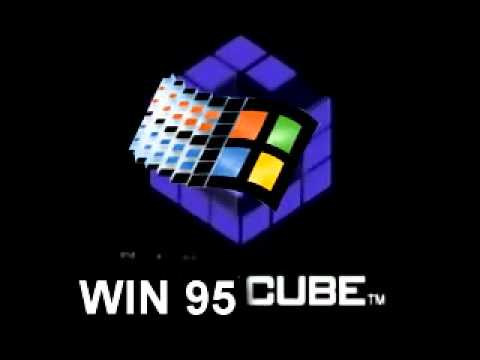 Windows 95 cube youtube for Windows 95 startup sound
