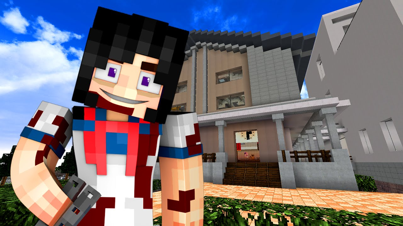 Yandere High School - SHES INSANE! (Minecraft Roleplay) #8 - YouTube