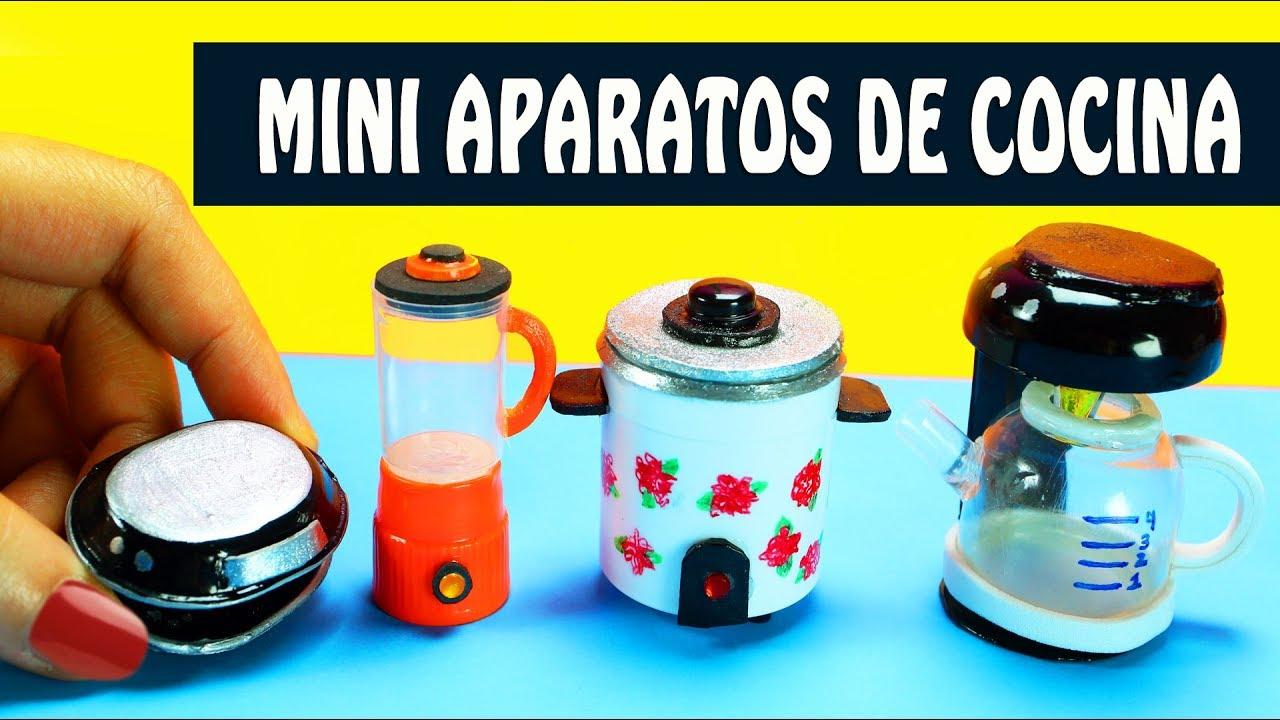 Diy 5 electrodom sticos de cocina en miniatura for Youtube videos de cocina