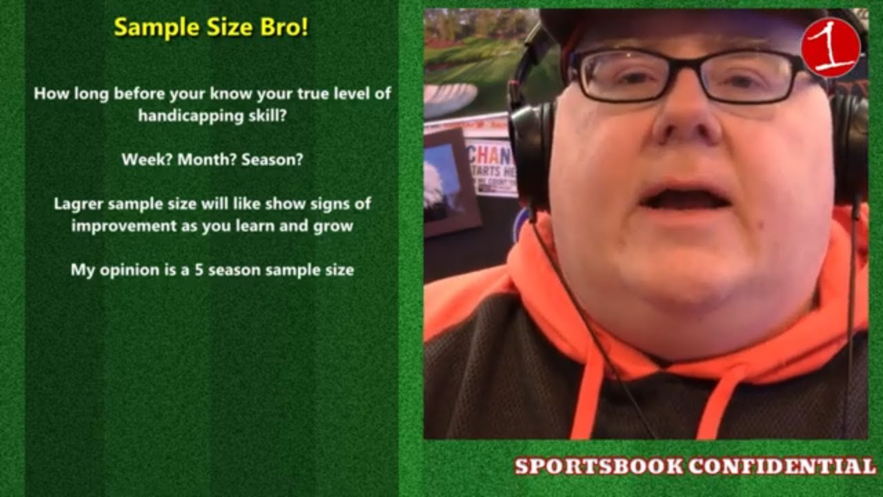 SPORTSBOOK CONFIDENTIAL: Record keeping, sample size & live handicapping (podcast)