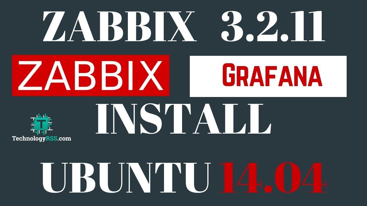Install Zabbix Grafana Same Server On Ubuntu 14.04