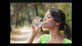 Drinking water on empty stomach.wmv