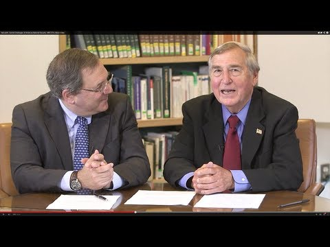 edX | HarvardX: Central Challenges of American National Security: HKS.211x About Video