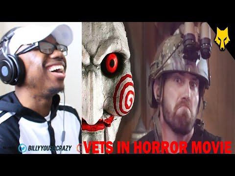 (Veteran Reacts To) If Veterans Were in Horror Movies REACTION!