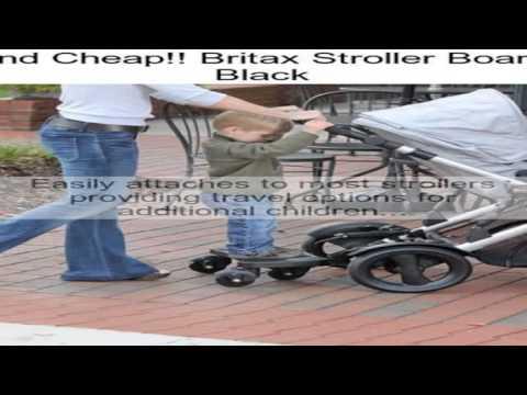 Britax Stroller Board, Black Review - YouTube