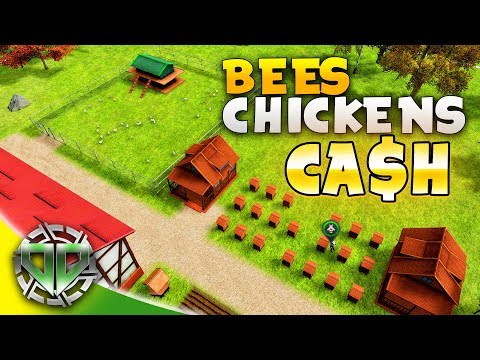 FARMING MANAGER 2018 : BEES and CHICKENS for CASH : Farming Manager 2018 Gameplay BETA