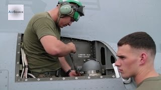Marines Mechanic Maintain the MV-22B Osprey at Clark Air Base During Operation Damayan