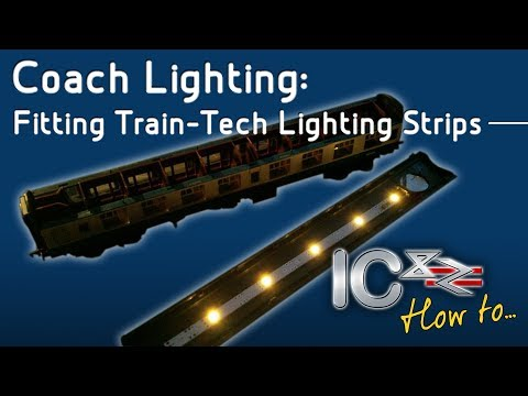 Fitting Train-Tech Coach Lighting Strips