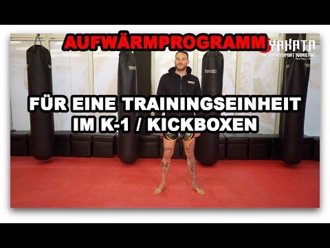 Aufwärmtraining/Warmup Im Kickboxing/K-1