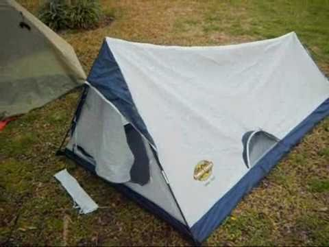Ten Minute Tent Timber Creek Hiker Tent Boy Scout 2.3 lbs Light! - YouTube : wenzel starlite tent - afamca.org
