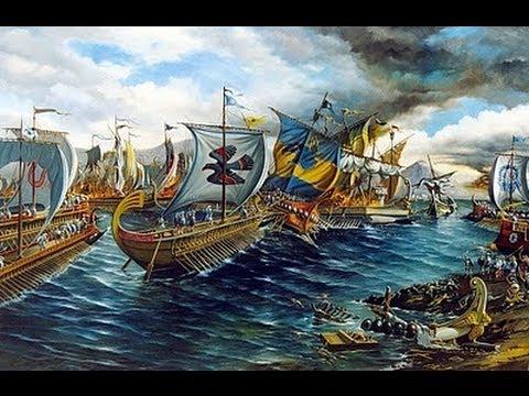 GRANDES BATALLAS DE LA HISTORIA - IV - LA BATALLA NAVAL DE ...