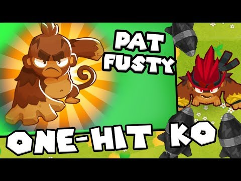Bloons TD 6 - Mega Monkey Hero - *Max Upgrade* Pat Fusty   JeromeASF