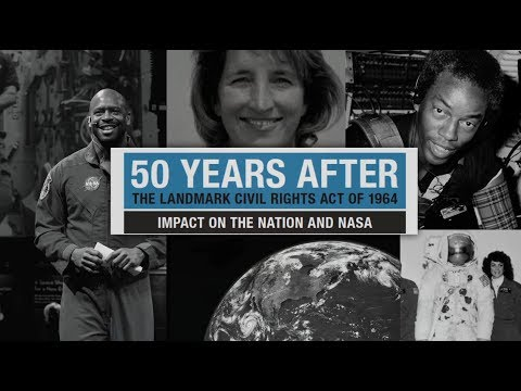 NASA celebrates 50 years of Civil Rights progress