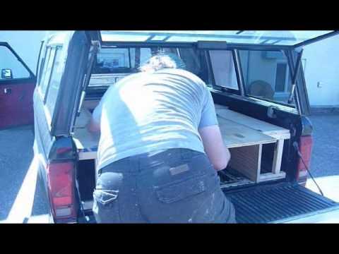 Ford Ranger Sleeping Platform/Camper - YouTube