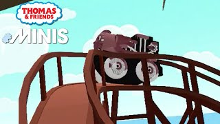 Thomas and Friends Minis - Muddy Spooky Thomas in Fun New 2021 Train Track! ★ iOS/Android (by Budge)