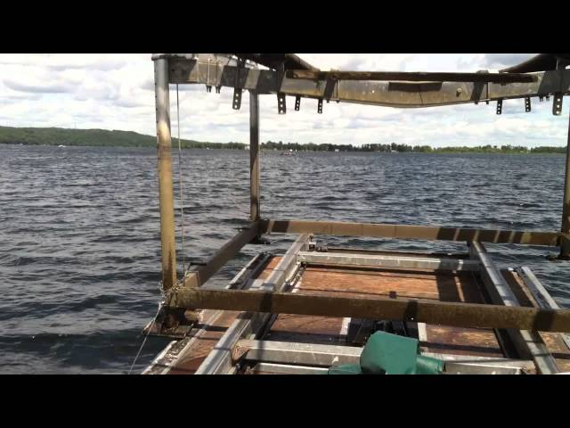 The Barge   Wide open with a 4000lb mech lift