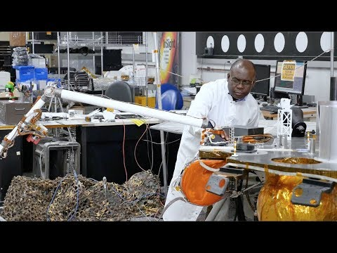 Inside InSight - Ghanaian Engineer Works on Robotic Arms for Mars