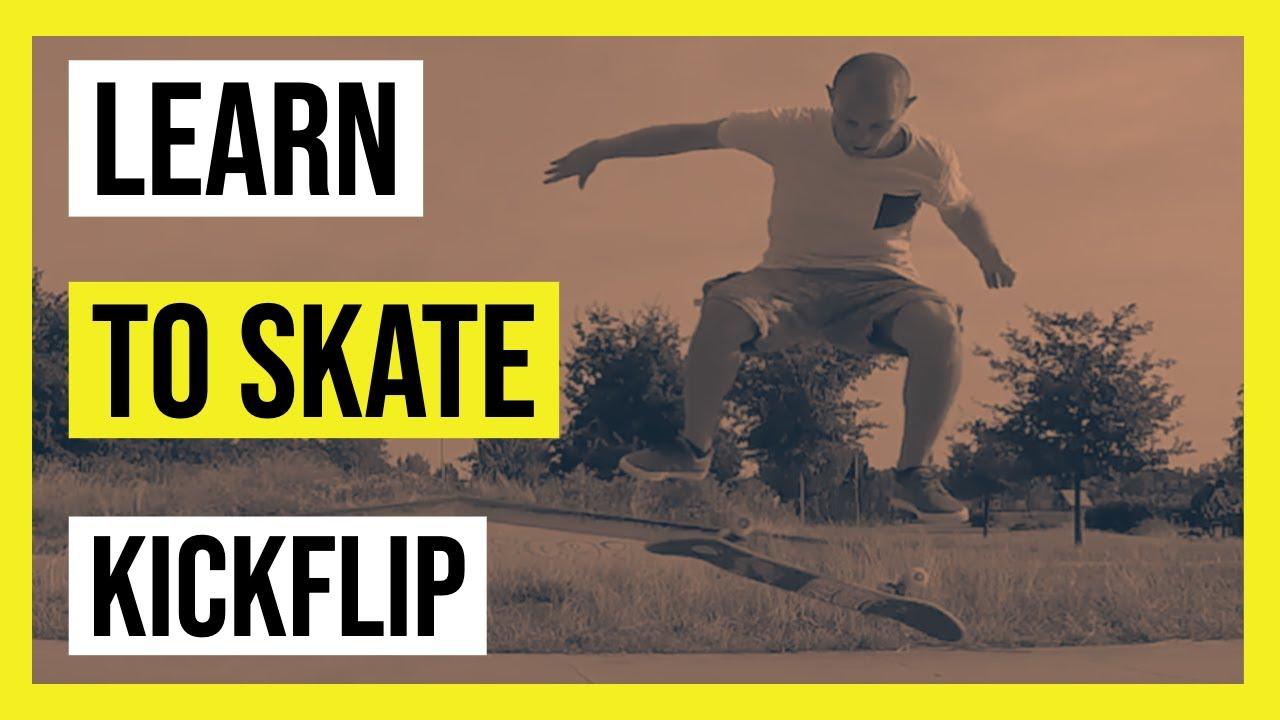 How to kickflip   Learn to skate   Skateboard tricks - YouTube