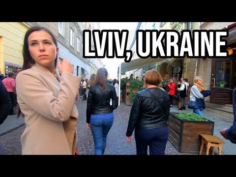 Exploring LVIV, UKRAINE