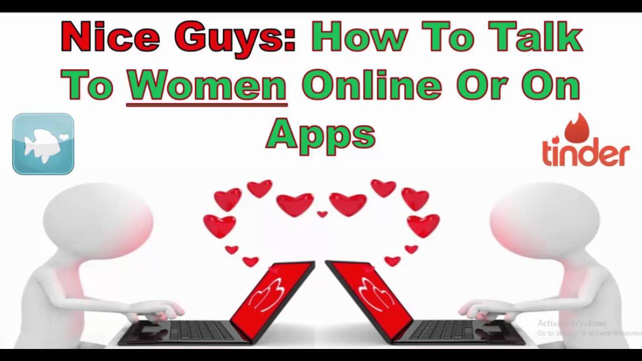 How to talk to women online