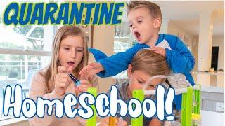 Quarantine Homeschool!! ** FUNNY SKIT!!