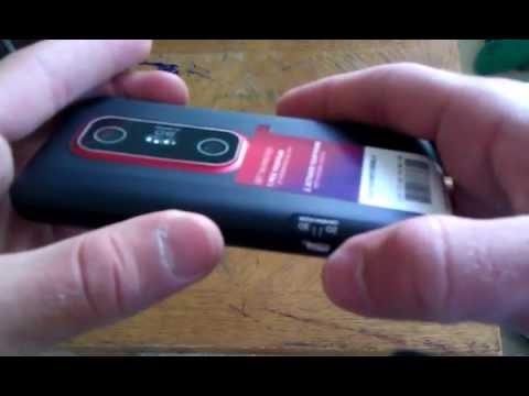 HTC Evo V 4G (3D) Unboxing - Virgin Mobile
